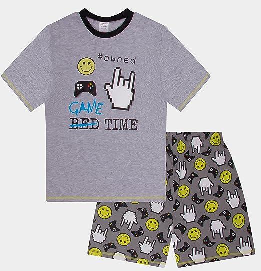 Boys Game Time Owned Short Pajamas Gaming Pjs Pajama Boy (12)