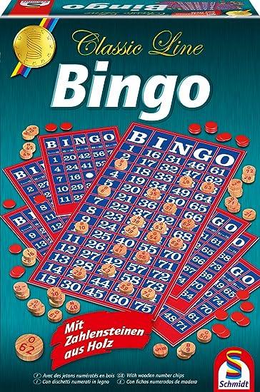 Bingo spiel für senioren
