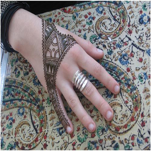 flower Mehndi Designs - New Pakistani Images