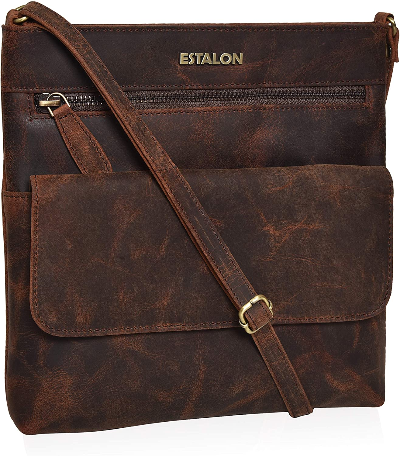 Leather Crossbody Purse...