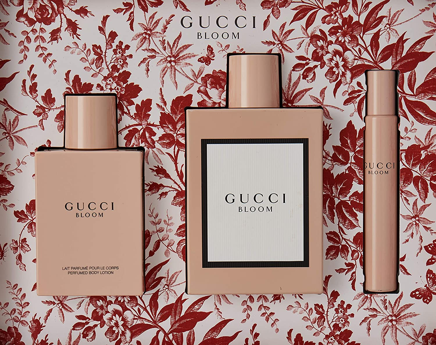 Gucci bloom edp 100ml + body 100ml + mini 7,5ml.: Amazon.es: Belleza
