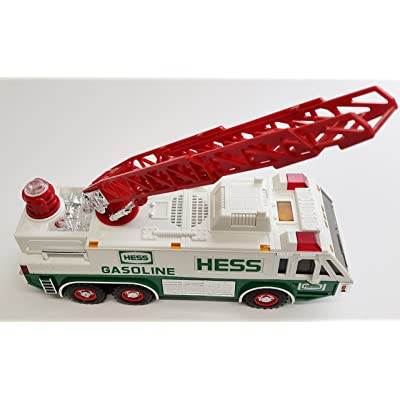 HESS 1996 Emergency Ladder Fire Truck Toy Trucks: Toys & Games [5Bkhe0805115]