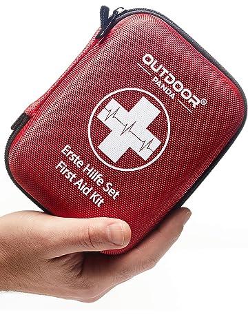 ERSTE HILFE SET 154 teiliges Premium Erste-Hilfe-Set-enth/ält Sofort K/ühlpacks Rettungsdecke first aid kit f/ür Arbeit Verbandskasten auto Erste Hilfe Koffer