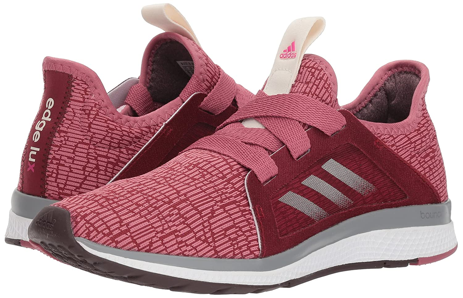 adidas Women's US|Noble Edge Lux Running Shoe B0785FF9Q8 7.5 B(M) US|Noble Women's Maroon/Night Red/Shock Pink b4b43e