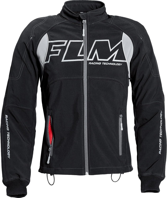 Textil Sportler Herren FLM Motorradjacke mit Protektoren Motorrad Jacke Sports Softshelljacke mit Protektoren 1.0 Ganzj/ährig