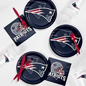 New England Patriots Tailgating Kit, Serves 8