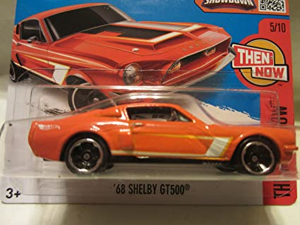 68 Shelby Gt500 >> Amazon Com 2016 Hot Wheels Hw Then And Now Aston 68 Shelby Gt500 5