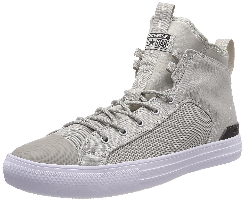 Converse CTAS Ultra Mid Pale Grey/Black/White, Zapatillas Altas Unisex Adulto 46 EU|Beige (Pale Grey/Black/White 081)