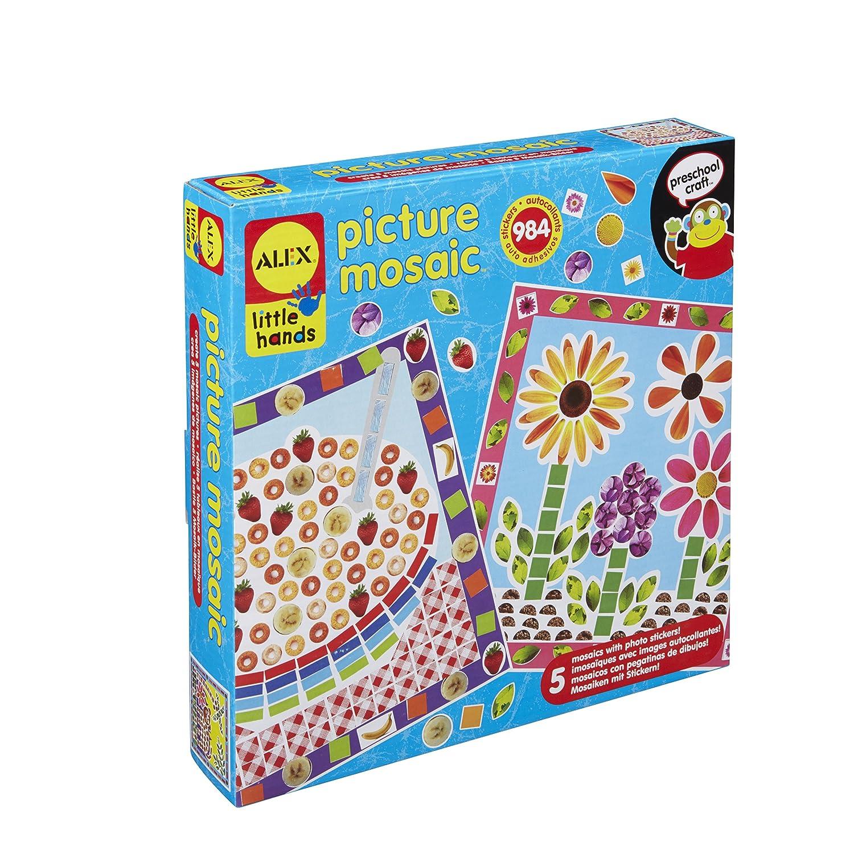 Amazon.com  ALEX Toys Little Hands Picture Mosaic  Toys   Games 54f41f08d5b28