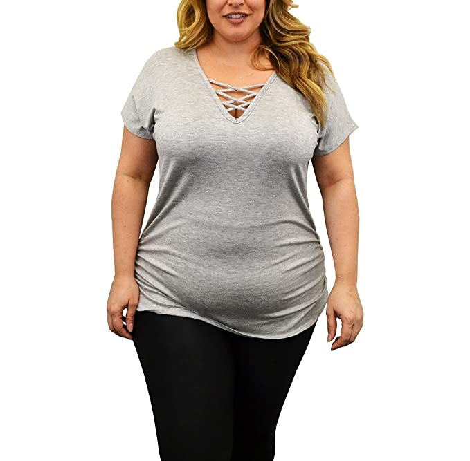 1364606daf49b Image Unavailable. Image not available for. Color  Urban Rose Womens Top – Plus  Size