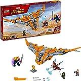 LEGO Marvel *英雄复仇者联盟:无限战争灭霸:终极战斗 76107 银河护卫队星际行动建筑玩具和儿童积木套装(674 件)
