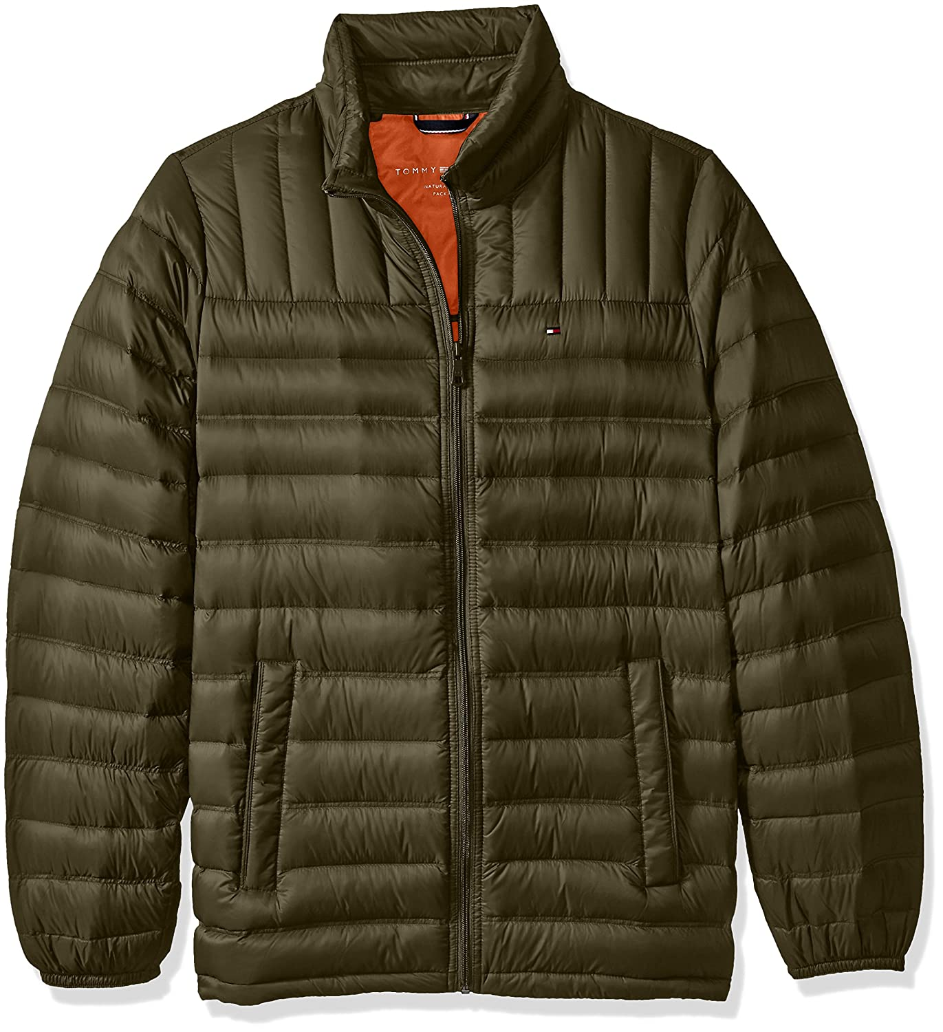 Tommy Hilfiger Men's Tall Size Packable Down Jacket 155TN231