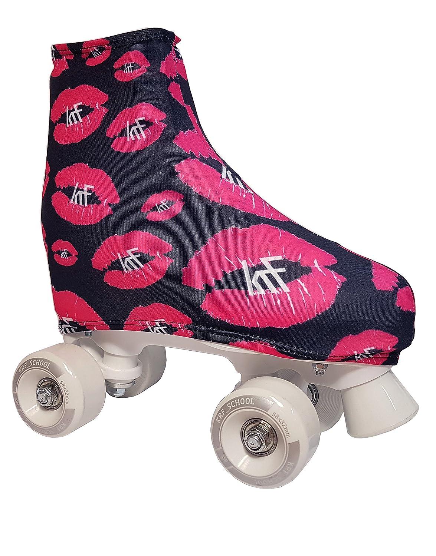 KRFフィギュアスケートブーツカバー - Kiss、N/A