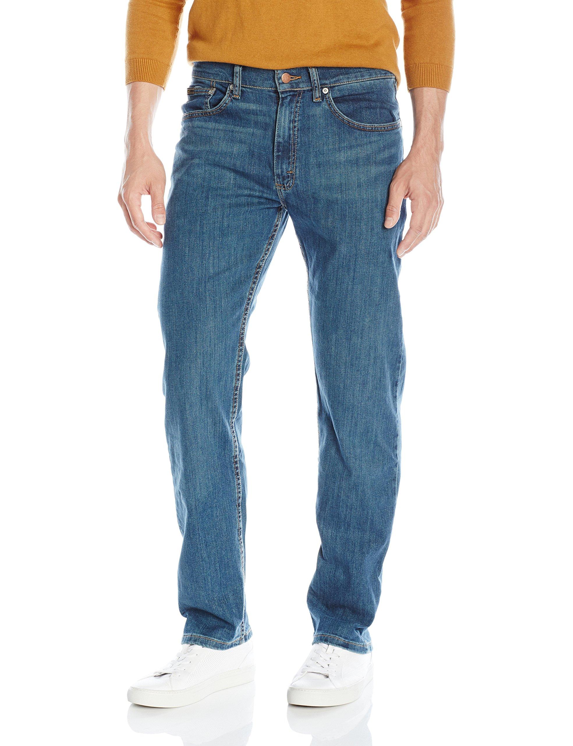 LEE Men's Premium Select Regular-Fit Straight-Leg Jean, Chopper, 38W x 32L