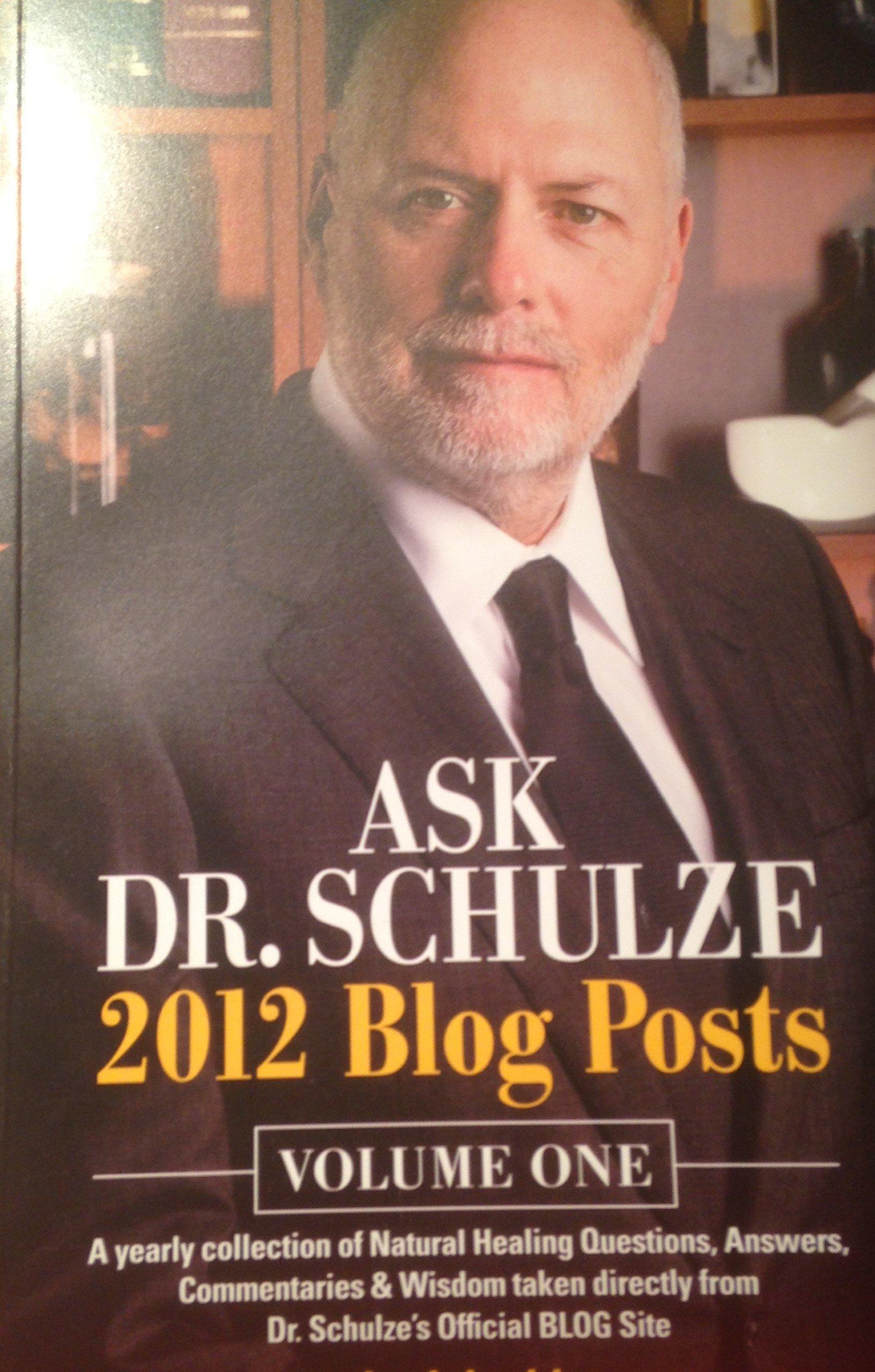 Ask Dr. Schulze 2012 Blog Post (Volume 1) pdf