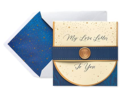 Amazon american greetings love letter fathers day card for american greetings love letter fathers day card for husband with foil 6051672 m4hsunfo