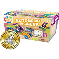 Thames & Kosmos Kids First Automobile Engineer Kit | STEM | 32 Page Full-Color Illustrated Storybook | Ages 3…