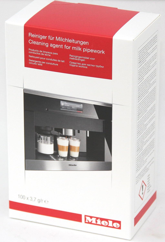 Miele limpiador para leche líneas 100 unidades para leche Limpia E higiénica líneas en el Café automáticas: Amazon.es: Jardín