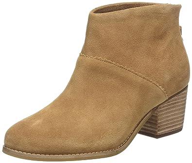 208d1ad4099 TOMS Shoes Women's Leila Black Leather Boots