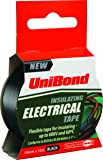 UniBond 1400472 Insulating Electrical Tape - 19 mm x 10 m, Black