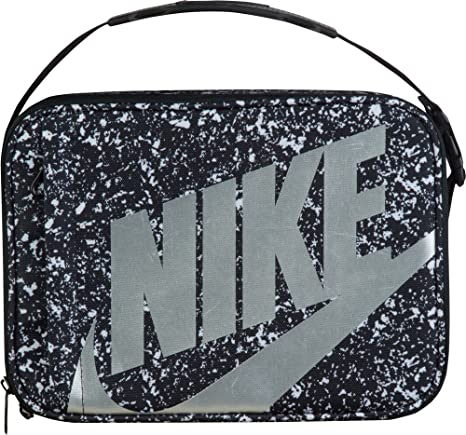 0af4a6418b59f Amazon.com: Nike Futura Fuel Pack Lunch Tote (White/Black/Metallic ...