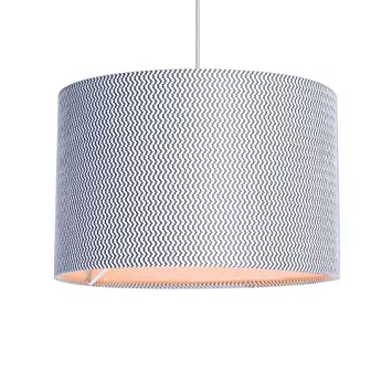 Debenhams home collection grey textured lamp shade