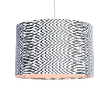 Debenhams home collection grey textured lamp shade