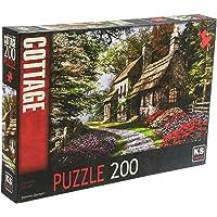 KS Games KS Carnation Cottage 200 Parça Puzzle