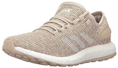 21fe0809873 adidas Men s Pureboost Clima Running Shoe, Clear Brown Chalk White Clay  Brown,
