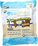 SeaSnax Roasted Seaweed Snack, Organic, 2.16 Ounce