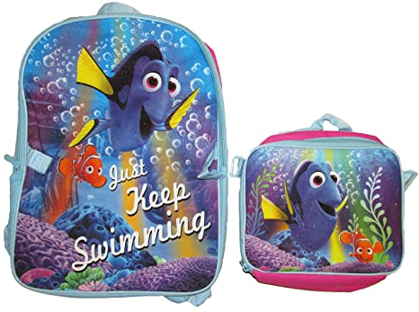 5cbfd6f50dd Image Unavailable. Image not available for. Color  Disney Pixar Finding  Dory Backpack with Lunch Bag ...