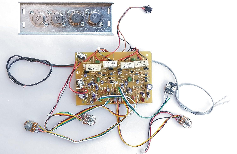 2n3055 Transistor Amplifier Circuit Diagram 43 Wiring 50w Audio Sl1500 Tech And Trade 250w Diy Based Amazon In