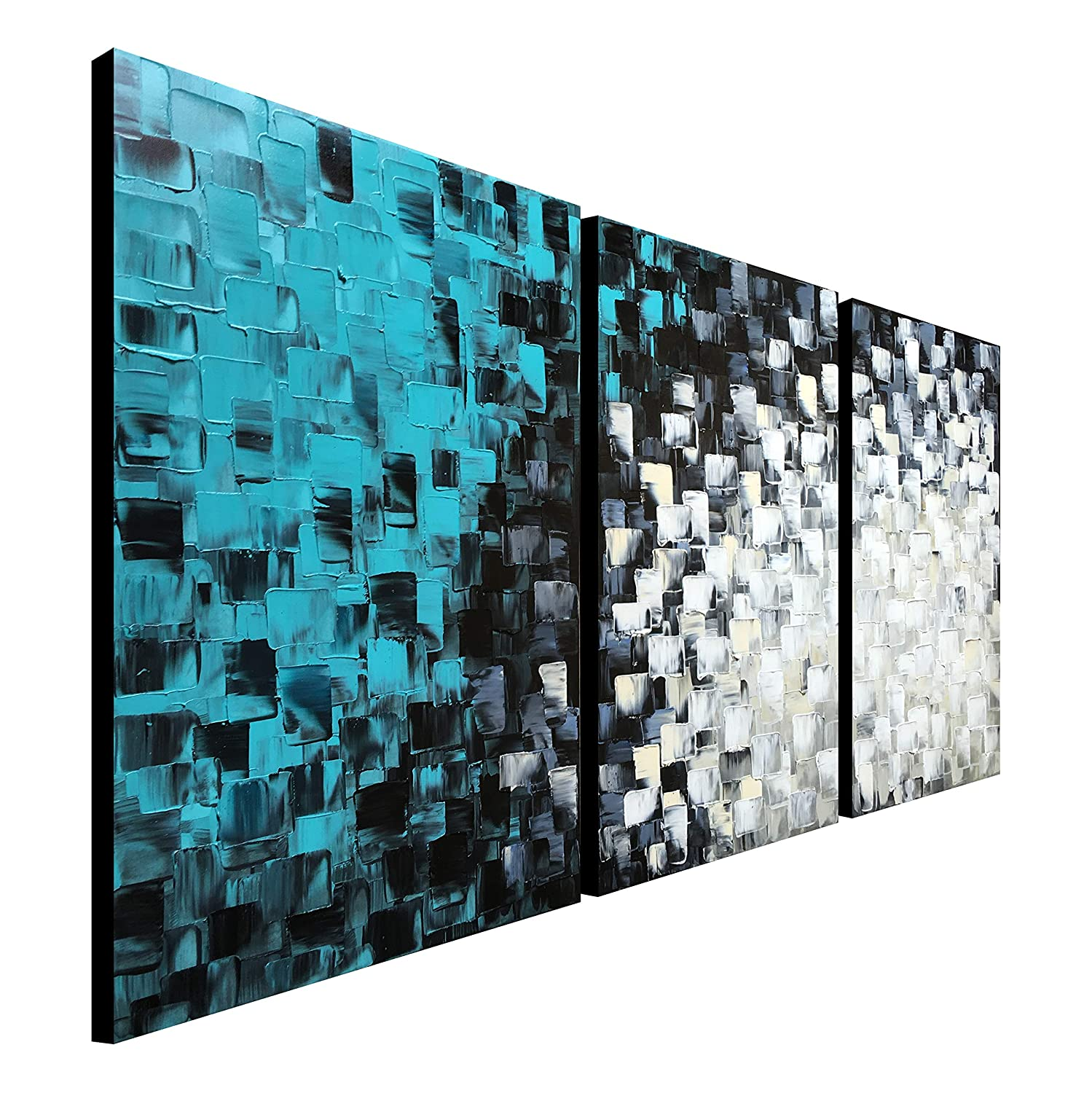Turquoise Canvas Wall Art
