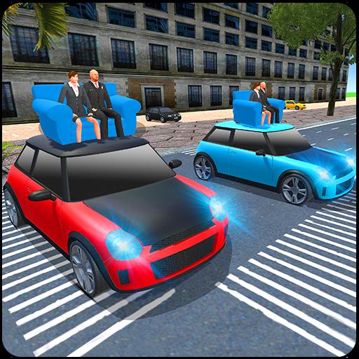 Pean Car Adventure In City