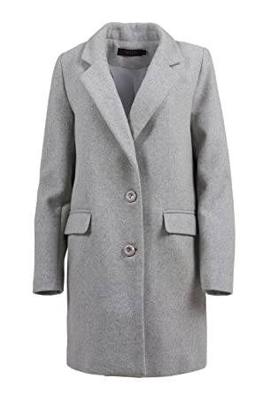 Grimada A65 Damen Klassischer Wollmantel Cootic Amazonde Bekleidung