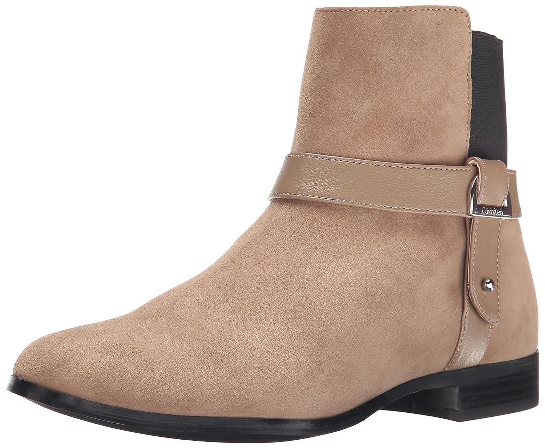 Calvin Klein Women's Raison Boot B00W34E61A 6 B(M) US|Mink/Black