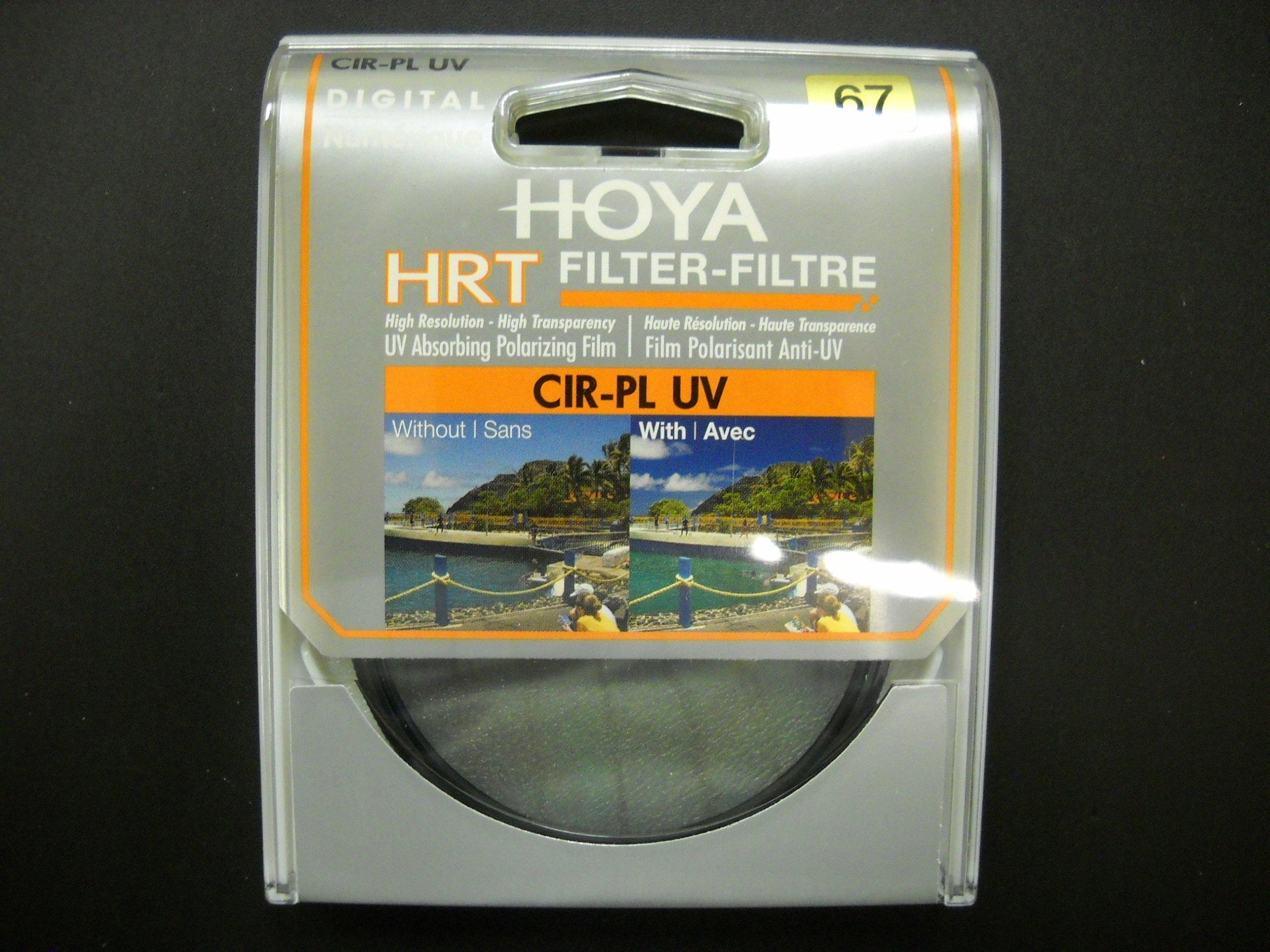 Hoya 67mm HRT Circular PL Polarizer UV Multi-Coated Glass Filter