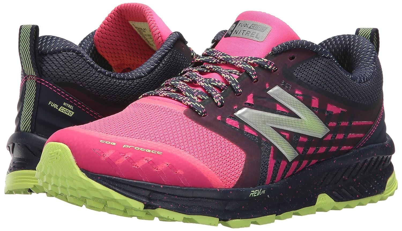 Amazon.com | New Balance Womens Nitrel v1 FuelCore Trail Running Shoe, Grey/Pink, 5.5 B US | Trail Running