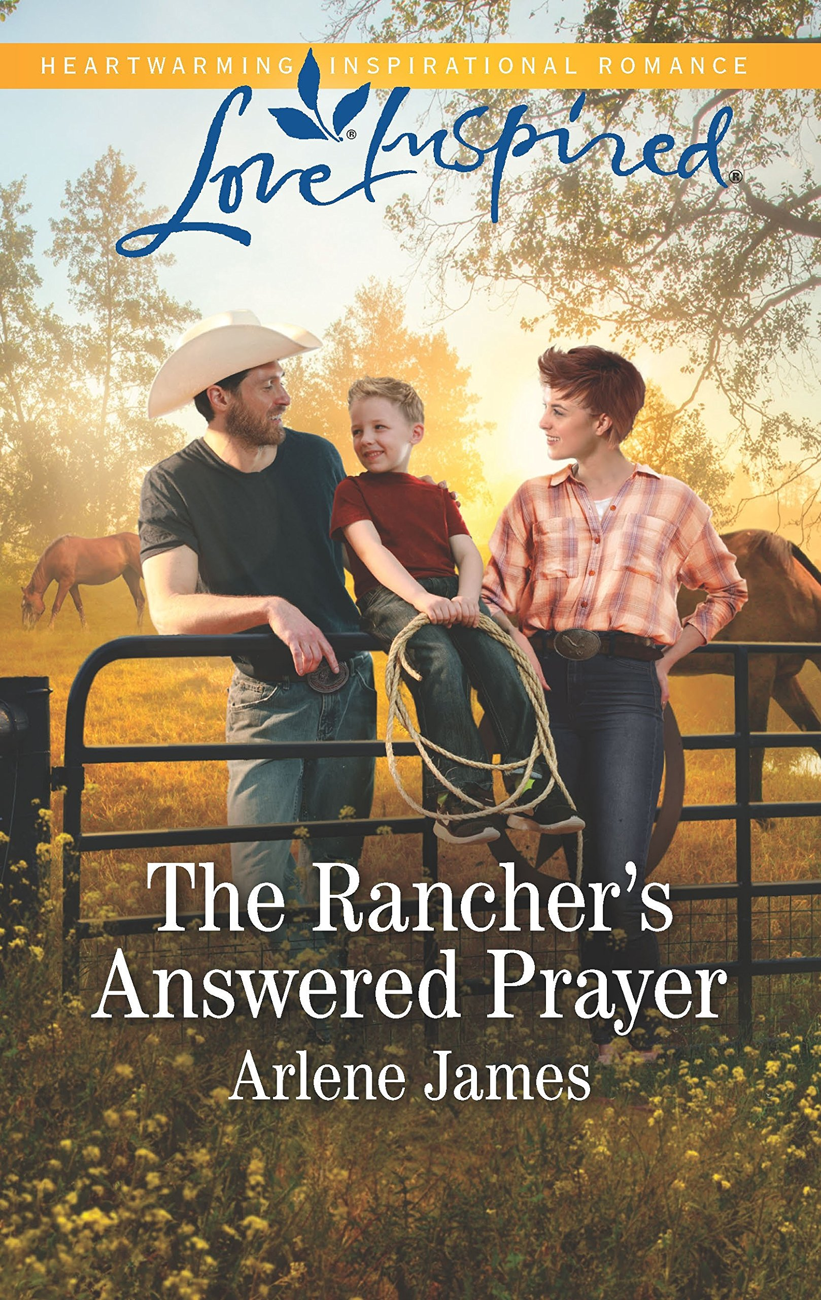 Image result for the rancher's answered prayer arlene james