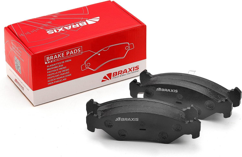 BRAXIS AA0284 Pastillas de freno traseras conjunto de 4