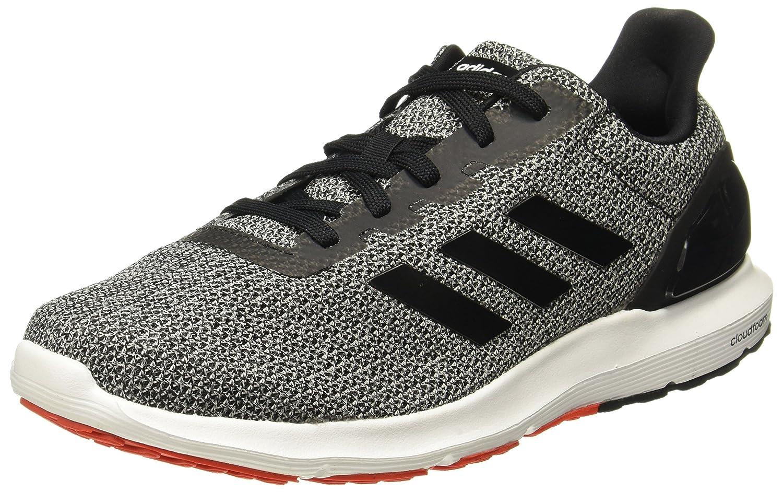 Adidas Cosmic 2, Zapatillas de Running para Hombre 44 EU|Negro (Core Black/Core Black/Core Red 0)