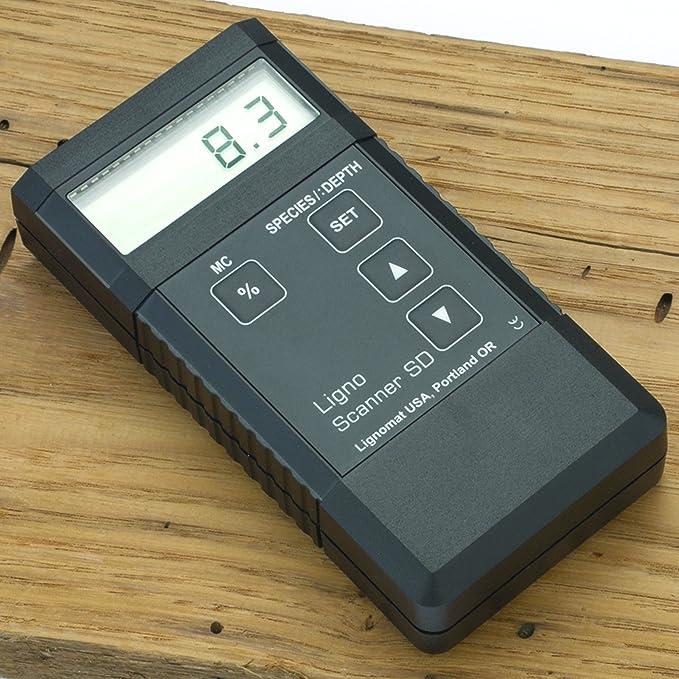 Lignomat Scanner SD Moisture Meter - - Amazon.com