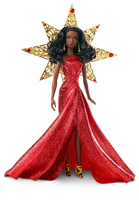 Barbie 2017 Holiday Nikki Black Hair with Red Dress Doll  sc 1 st  Amazon.com & Amazon.com: Barbie 2017 Holiday Nikki Black Hair with Red Dress Doll ...