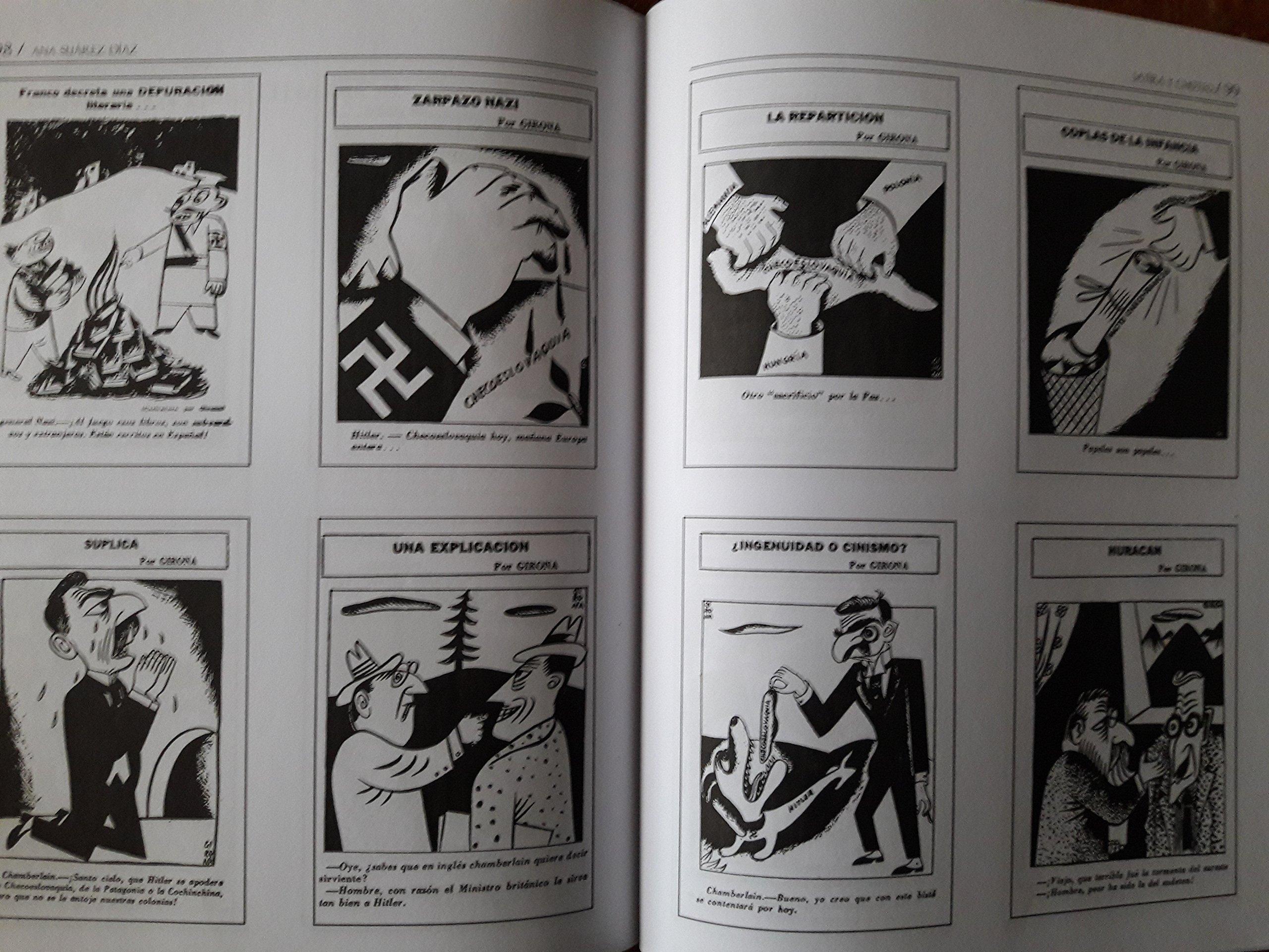 Satira y choteo.la caricatura politica de julio girona.: julio girona.ana suarez diaz., julio girona: 9789592684270: Amazon.com: Books