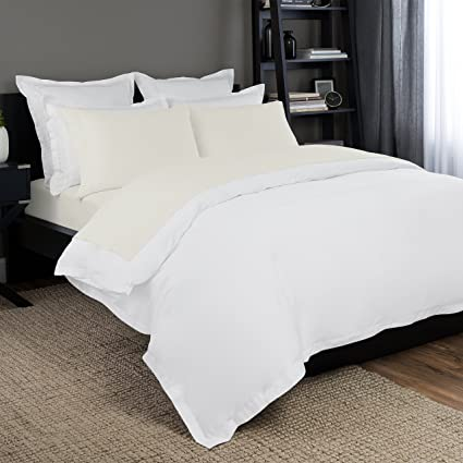 Lovely Briarwood Home 150 GSM Solid Jersey Deep Pocket Bed Sheet Set, 100% Soft U0026