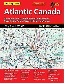 Canadas Maritime Provinces 1530 000 Travel Reference Ma