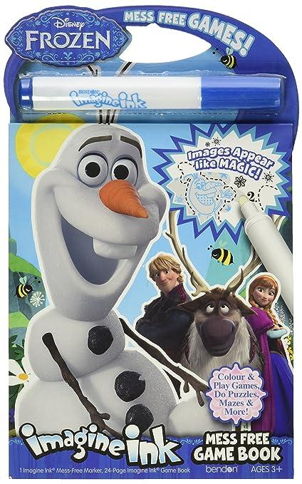 Bendon Publishing Disney Frozen Imagine Ink Mess Free Game Book
