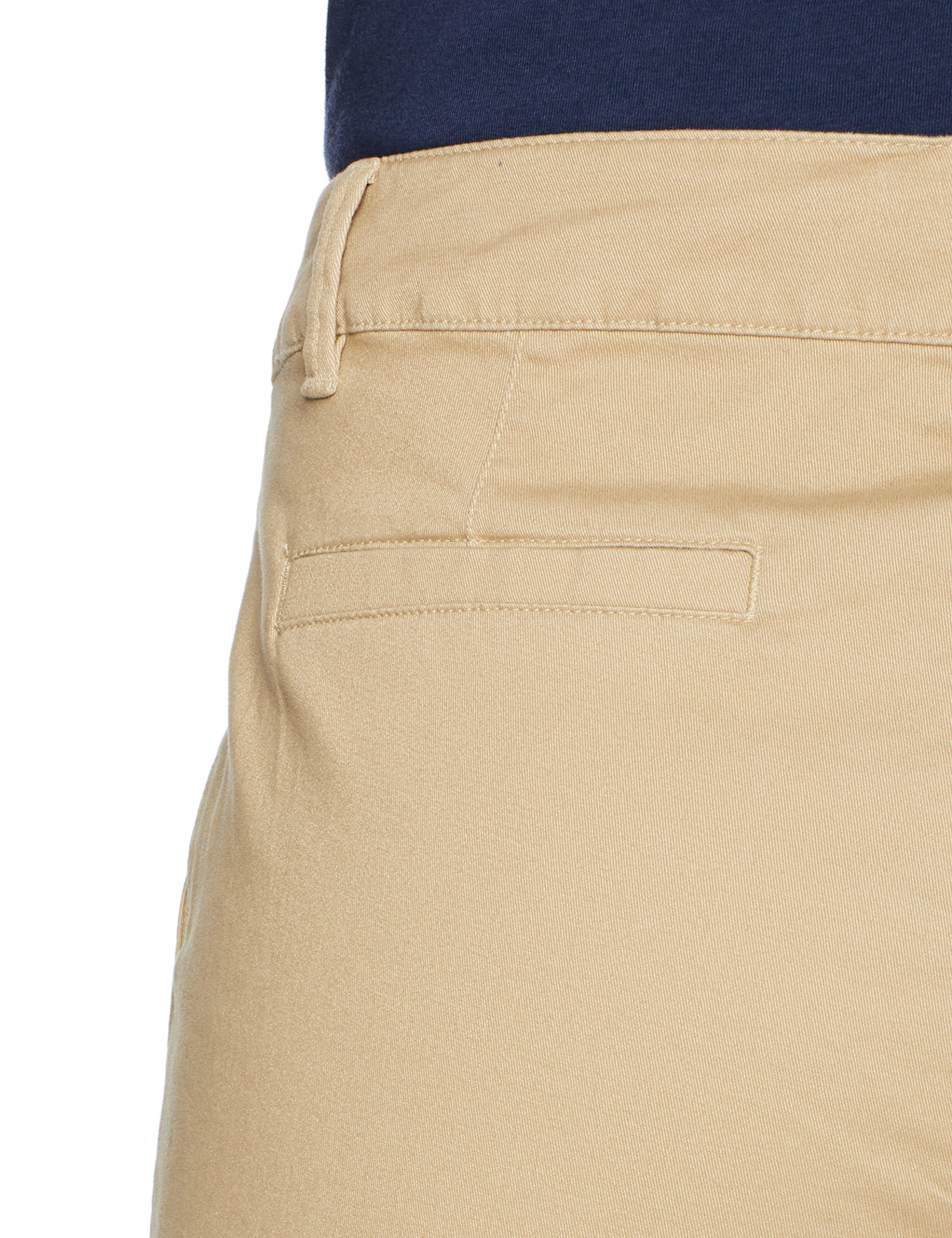 Amazon Essentials Women's 5'' Inseam Solid Chino Short Shorts, Khaki, 12 by Amazon Essentials (Image #5)