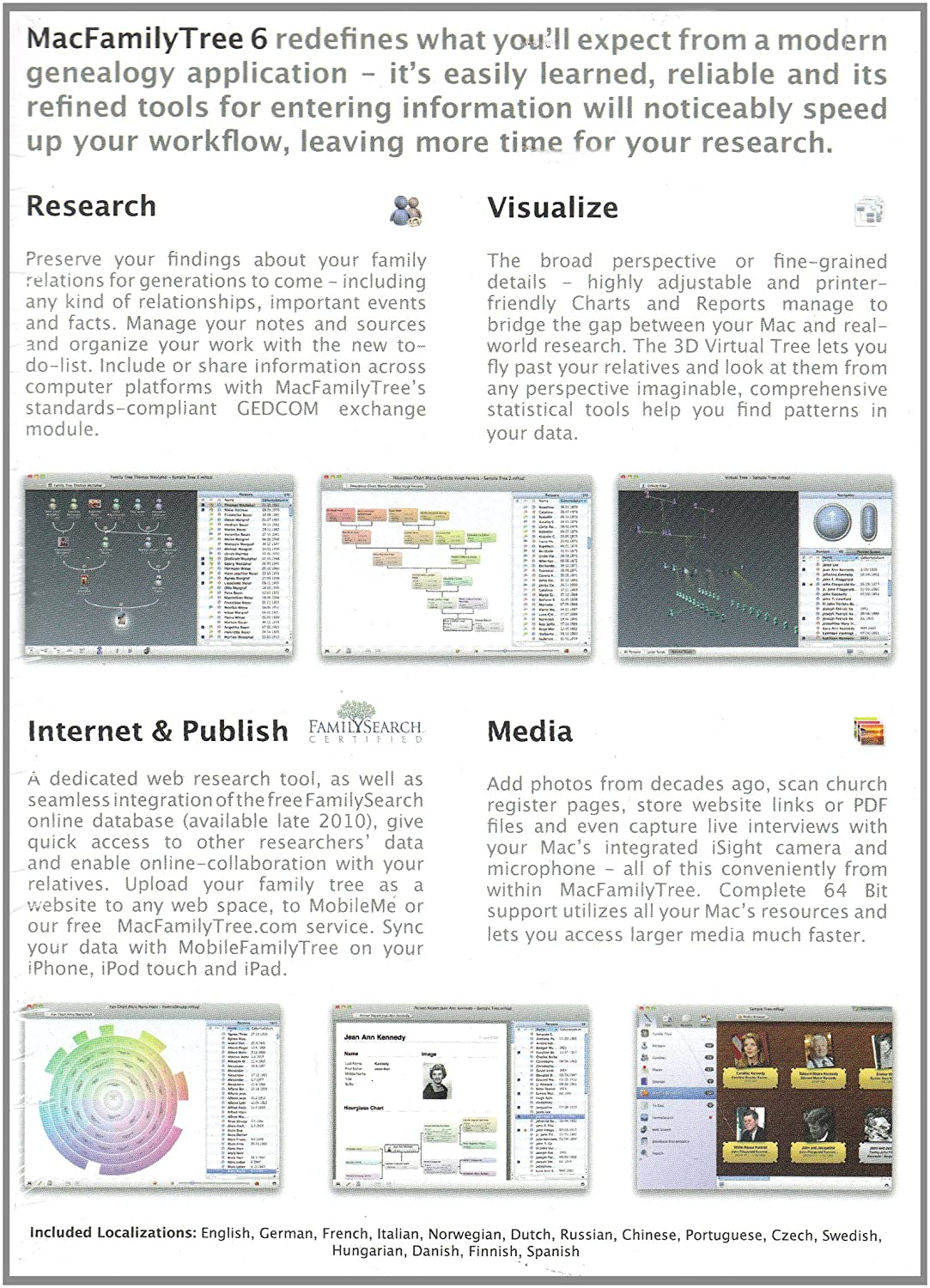 MacFamily Tree V6 (Mac)