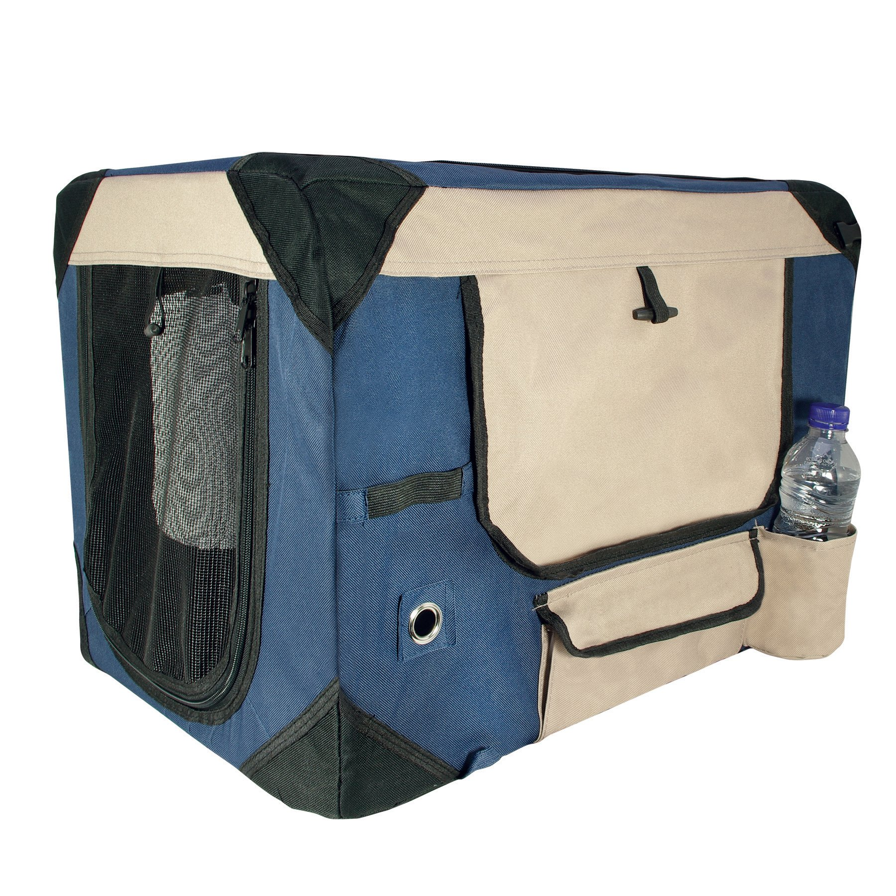 Dogit Deluxe Soft Crate with Bag for Pets, Small, Blue